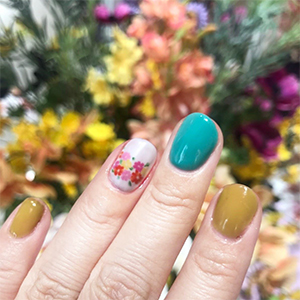 STAMP NAIL Designed フラワーアート¥3,240