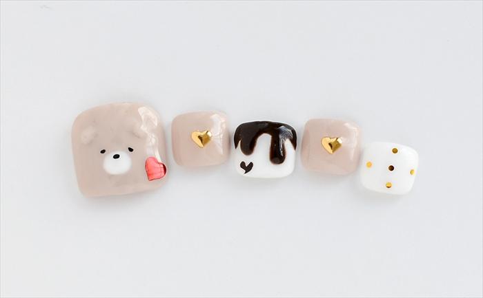 3Dくまちゃんのチョコレート